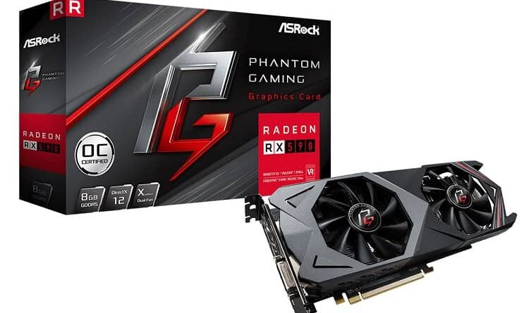 ASRock Phantom Gaming X Radeon RX590 8G