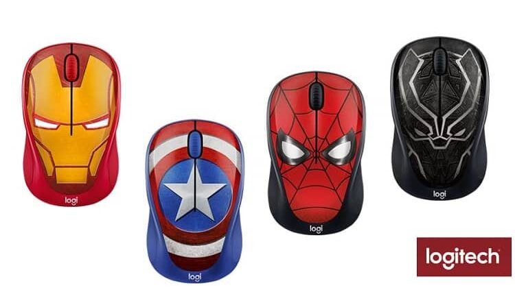 Logitech-M238-Marvel-Collection New