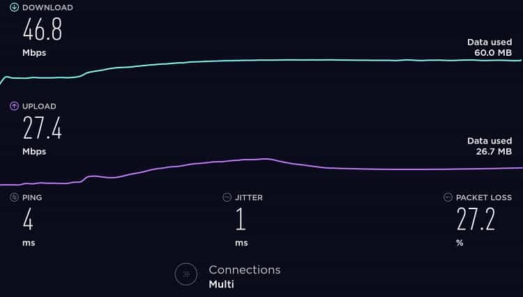 Speedtest - No VPN-min