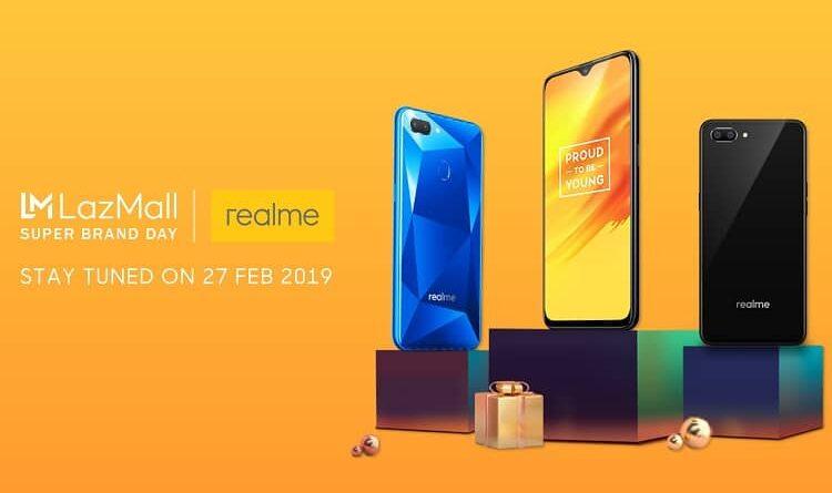 Realme X Lazada Super Brand Day