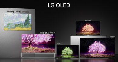 LG 2021 OLED TV Range